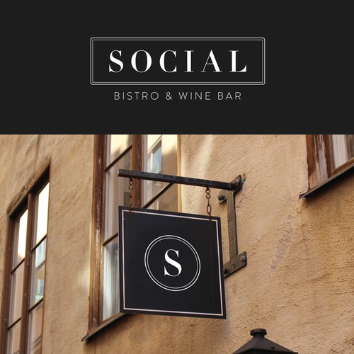 This is a cool modern restaurant with a Social Vibe....social hour