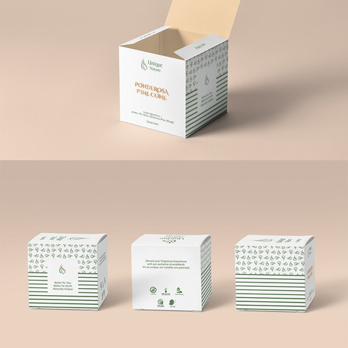 Creataive Candle Package Design