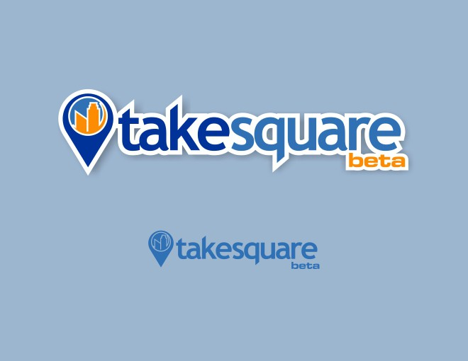 Create a logo for Takesquare, a geolocalized web game