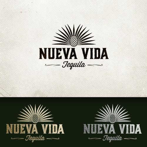 Tequila brand logo design