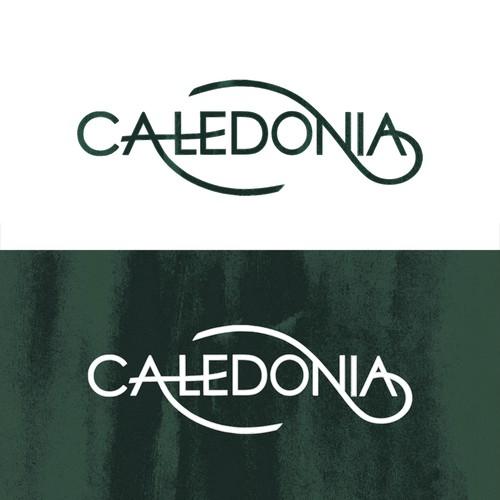 Caledonia Properties Logo Design