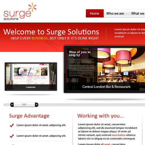 Surge Solutions - Web development company