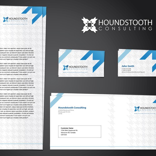 Houndstooth Consulting Brand Identity