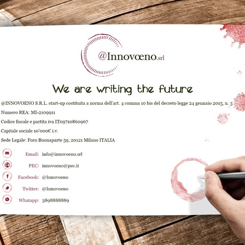 Web Landing page for Innovoeno
