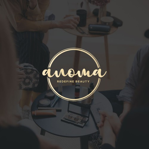 text logo concept for anoma