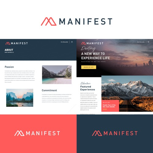 Logo design for Manifest