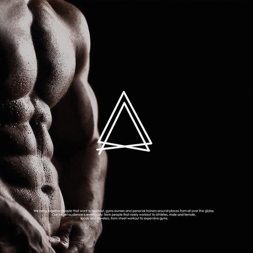 Create an awesome brand identity for the coming workout community: Airthletic