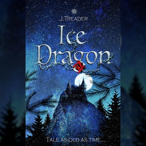 Ice Dragon Ebook Cover Design
