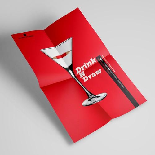 Drink & Draw flyer