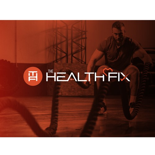 Logo for a health and fitness company