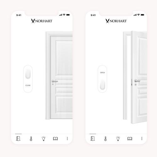 Smart apartment app