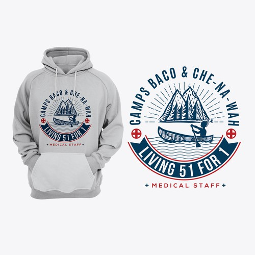 Shirt or hoodie for camp doctors