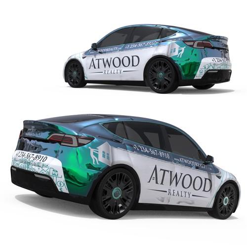 Car wrap - Atwood real estate