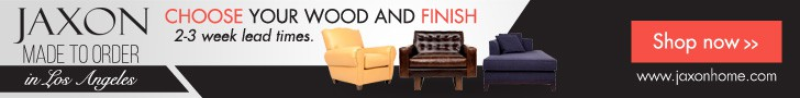 Banner Ads for Classy Upscale Furniture Brand