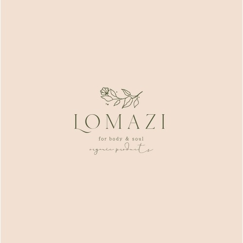 Beutiful subtle logo design for Lomazi Contest