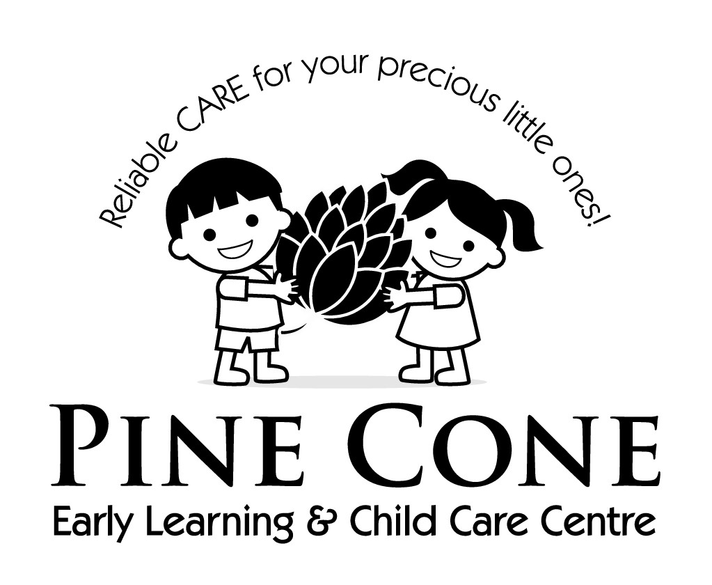 A captive logo for an early learning and childcare centre