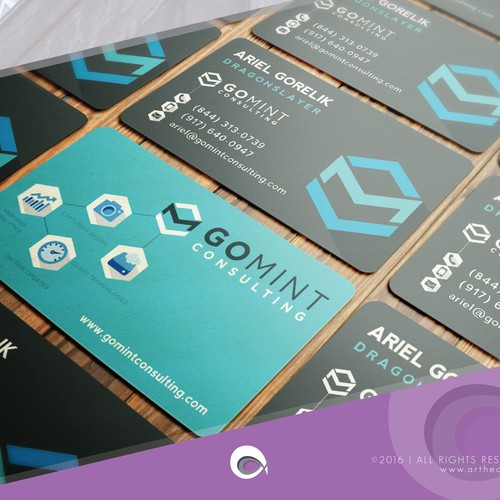 Business Cards for GoMint Consulting