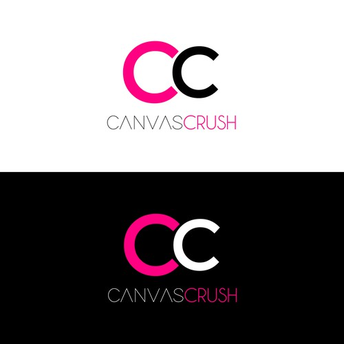 Bold logo concept for Canvas Crush