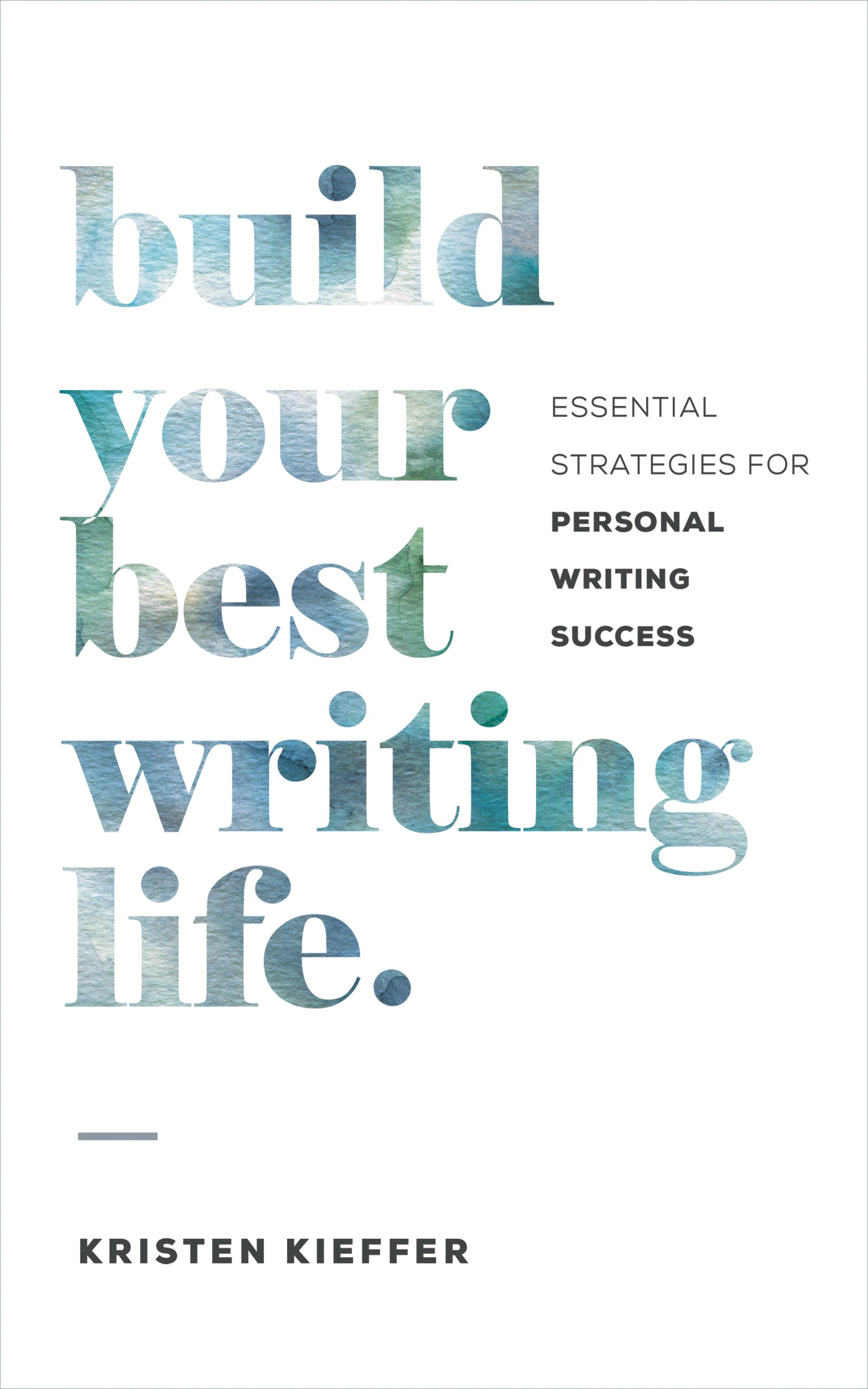 Self-help book for writers needs a modern, minimal cover