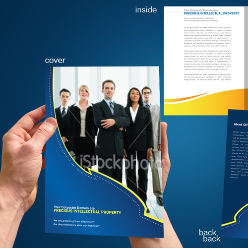 4-page A4 size Brochure design