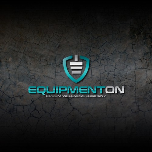 equipment on logo