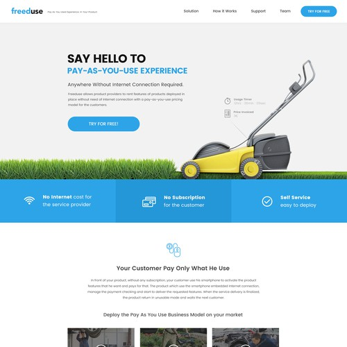 Website for Mobile Technology for the Internet of Things