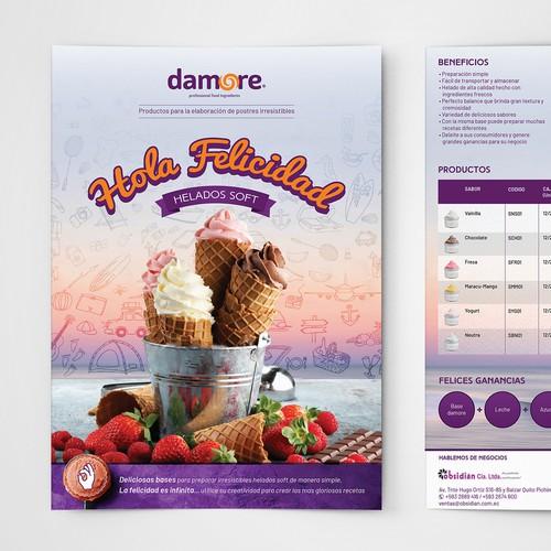 Flyer for Damore