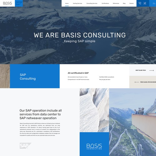 Consult Firm webdesign