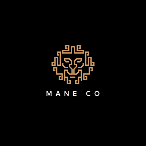 "Logo concept for ""Mane Co"""