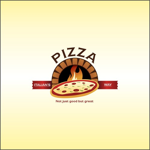 Logo concept for pizzeria