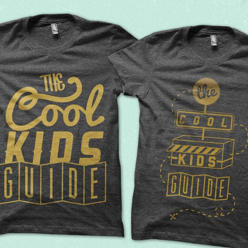 Create a winning t-shirt design for The Cool Kids Guide