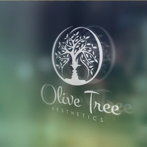 An olive tree in a beauty business logo!