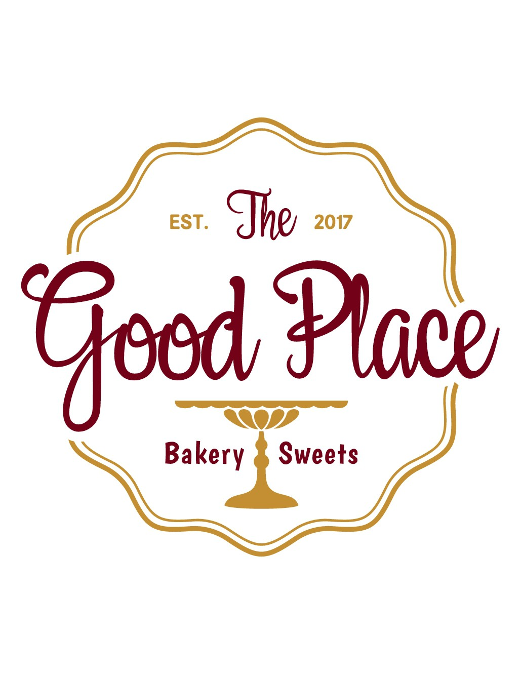 The Good Place Bakery & Sweets needs a awesome artsy logo