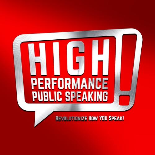 Logo design for High Performance Public Speaking