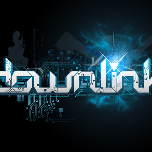 downlink - Logo for music producer / DJ
