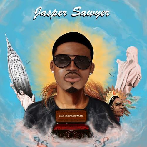 CD Cover for Indie Pop artist Jasper Sawyer