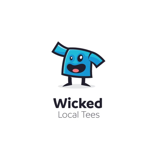 T-shirt mascot logo