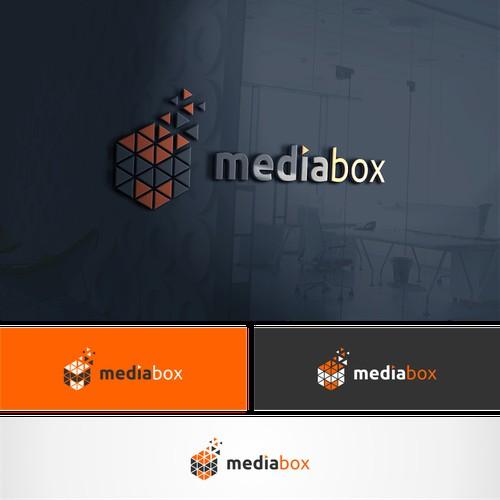 Lettermark M logo for mediabox