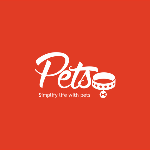 Create an awesome logo for a company who create pet solutions