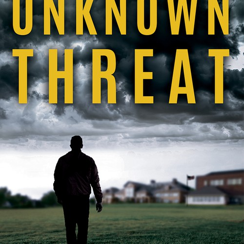 "Book cover for Thriller, ""Unknown Threat."""