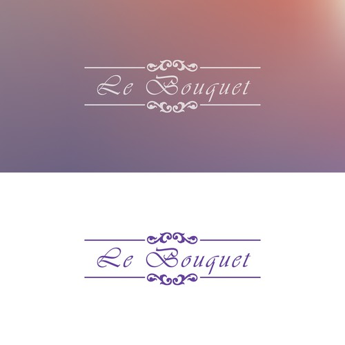 Le Bouquet logo concept