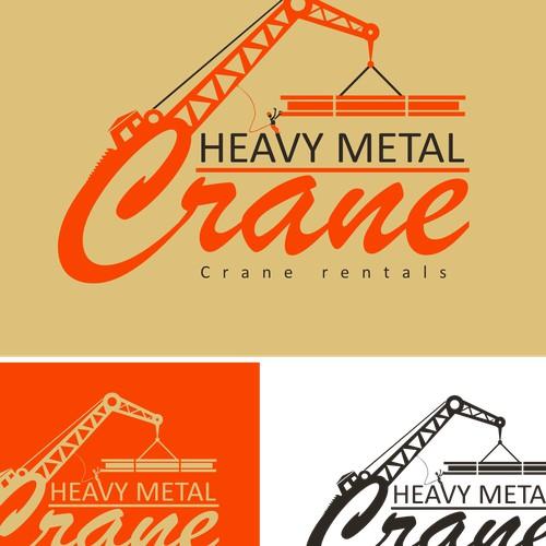 Classic heavy crane