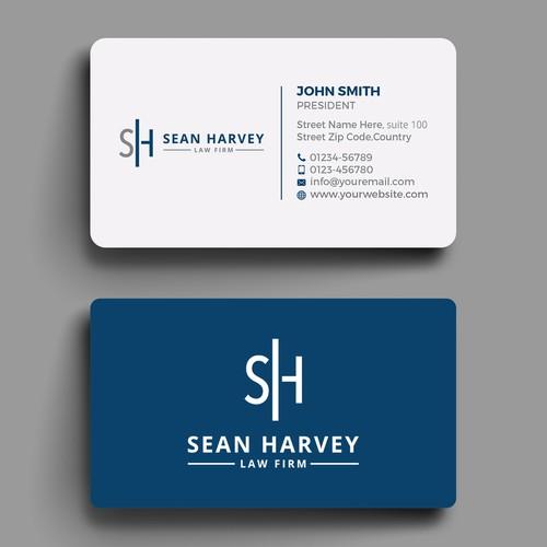 Design a sleek business card