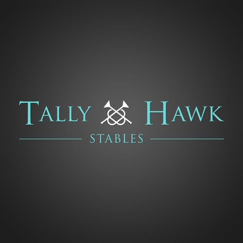 Logo for 'Tally Hawk Stables'