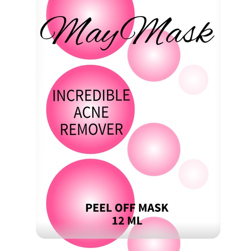 Package design for acne remover product