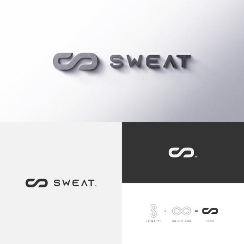 Sports brand logo concept