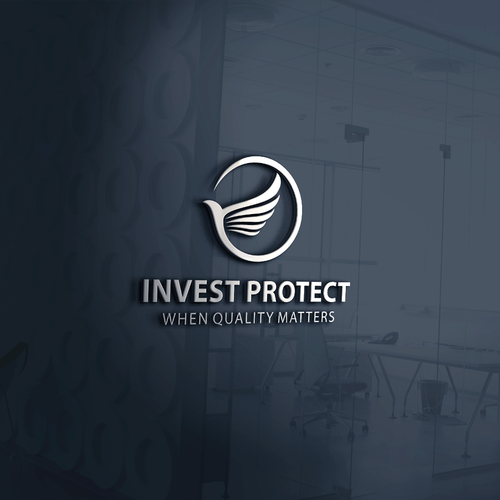 Classy Logo For Invest Protect
