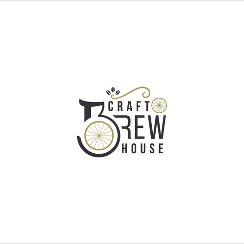 Vintage Logo for Craft Brew House