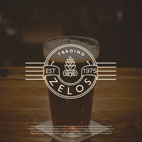 Create a captivating logo for Zelos Trading Corporation