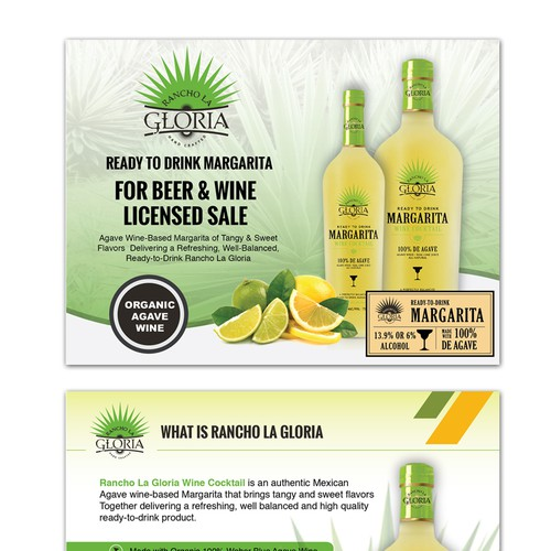 Powerpoint Design for a liquor Company